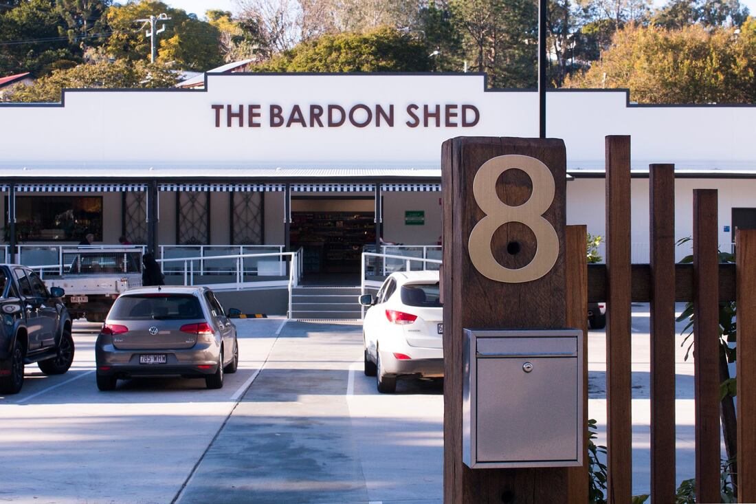 Bardon shed